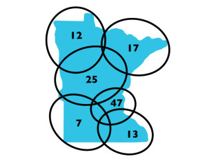 Minnesota-circles